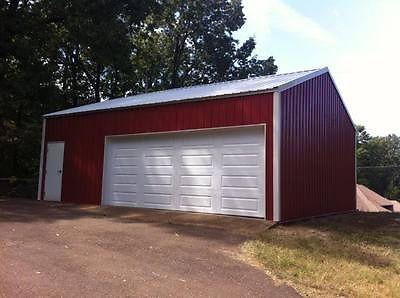 24 39 X 24 39 Garage Shop Steel Building Metal Kit