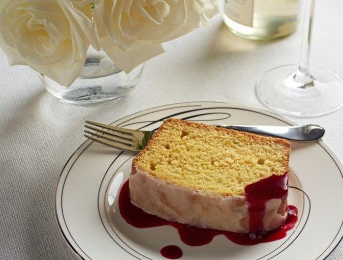 Orange-Cornmeal Pound Cake Recipe | Scrumdiddlyumptious! | Pinterest