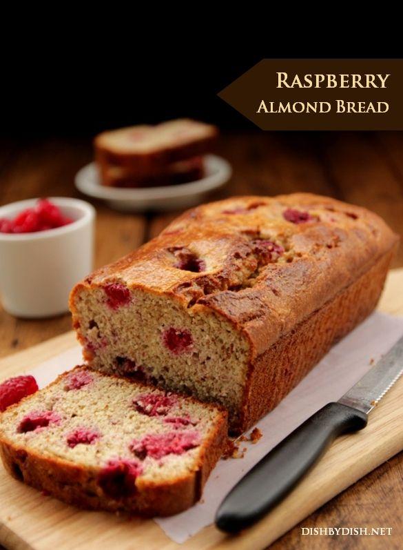 Grain-free Raspberry Almond Bread | Gluten Free | Pinterest