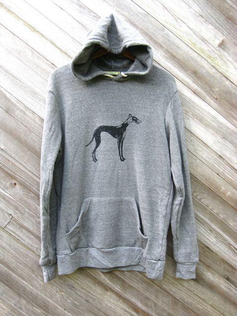 supa fly Greyhound Hoodie, Greyhound Sweater, Men's Sweatshirt, S,M,L