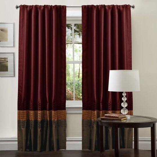 Mia Brown/Red Window Panel $75.00