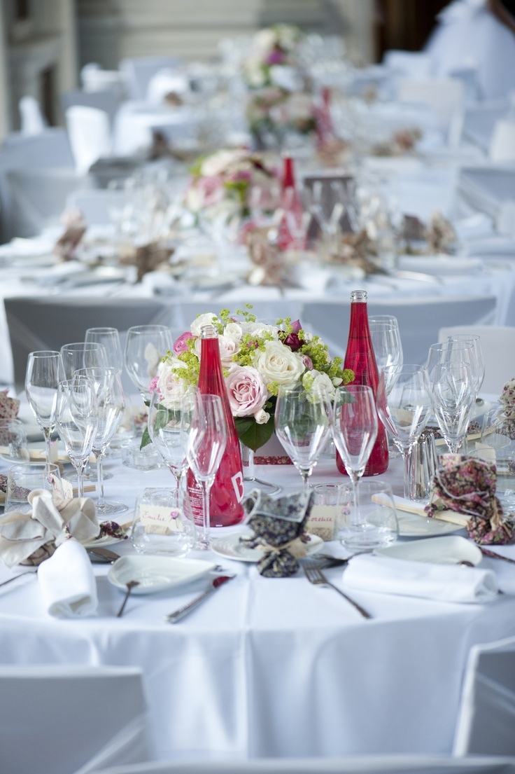 Deco table mariage Liberty  Mariage champetre chic  Pinterest