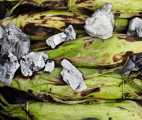 Ember-Roasted-Corn-on-the-Cob Photo - fathers day Recipe Slideshow at ...