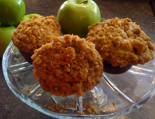 Apple Pie Muffins | Food to try - Breakfast Dishes | Pinterest