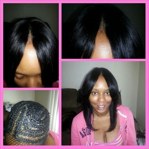 Invisible Part Sew-in Cute Hair styles Pinterest