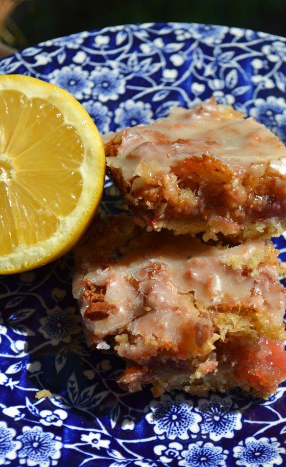 Strawberry lemon bars | Foods That I LOVE | Pinterest