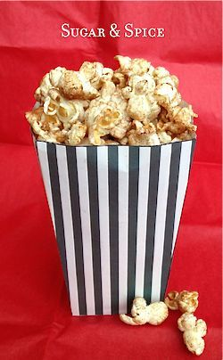 Sugar & Spice makes everything nice, especially your popcorn. Try this ...