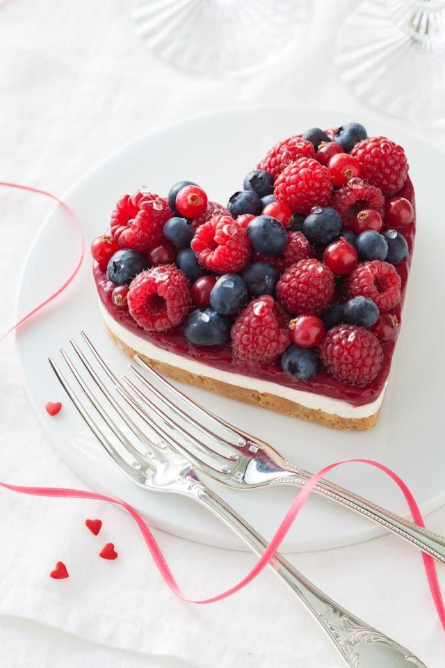 Tarte fruits rouges Saint Valentin - Yann Brys