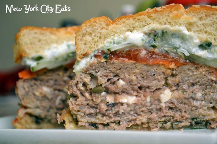 Greek Feta Burger Recipes — Dishmaps