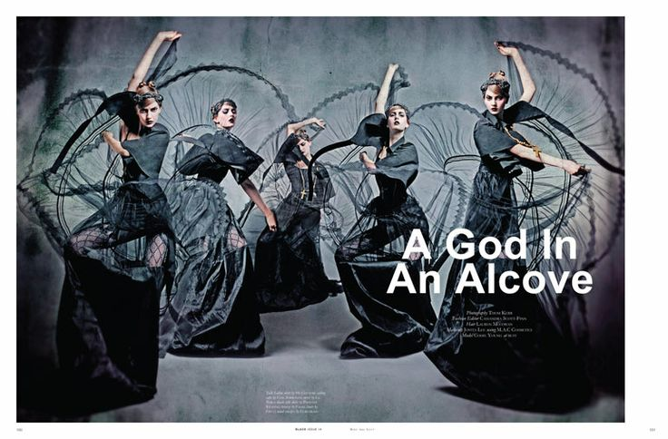A God in an Alcove | Codie Young | Thom Kerr #photography | Black Magazine 15