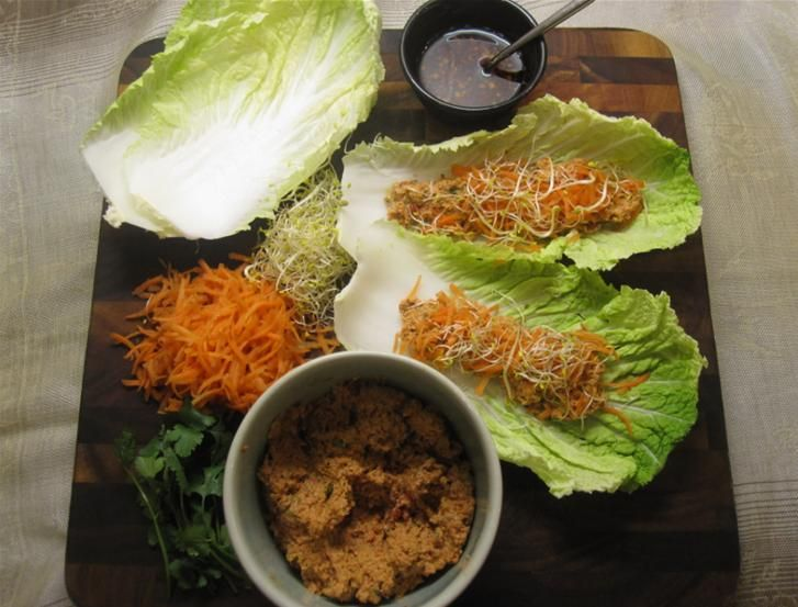 Vegetarian Lettuce Wraps!   Vegetarian/vegan diets   Pinterest