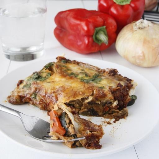 Vegetable enchiladas - Dishing the Divine