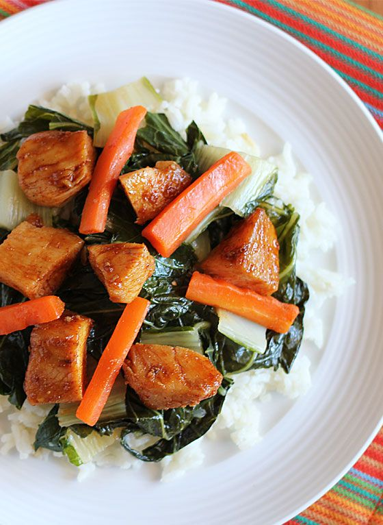 Chicken & Bok Choy Stir Fry | Recipe