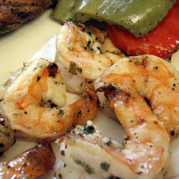Marinated, Grilled Shrimp | meals | Pinterest