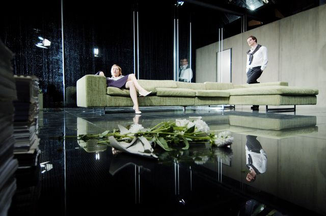 Hedda Gabler, dir Thomas Ostermeier. Game-changing production which made the play's difficult-to-stage ending heartbreakingly perfect.