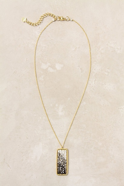 $58 Anthropologie Oblong Reflections Necklace