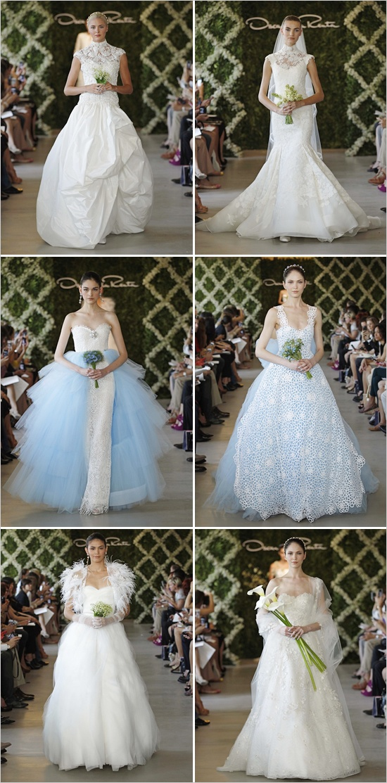 Oscar De La Renta 2013 Bridal Collection