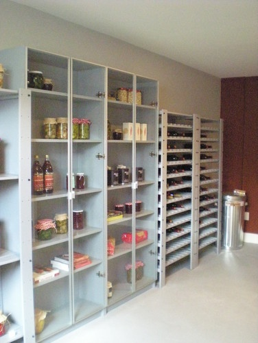 Additional pantry storage in the garage garage ideas for Additional kitchen storage ideas