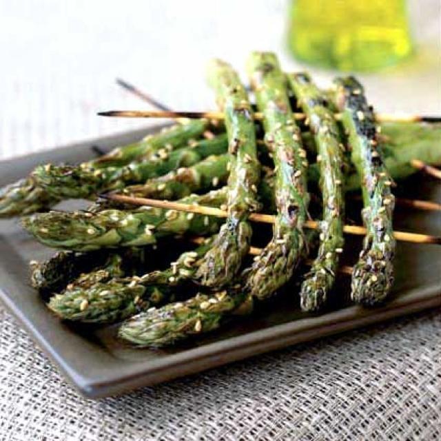 Grilled asparagus | Food | Pinterest