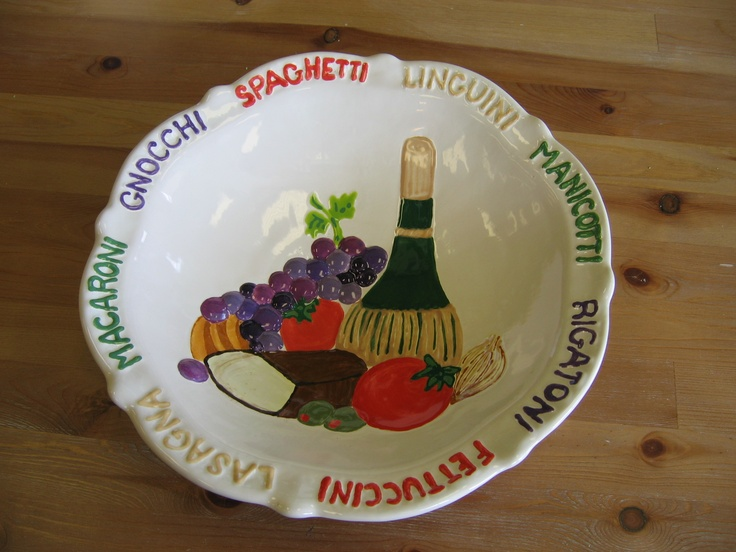 how to say bowl in italian