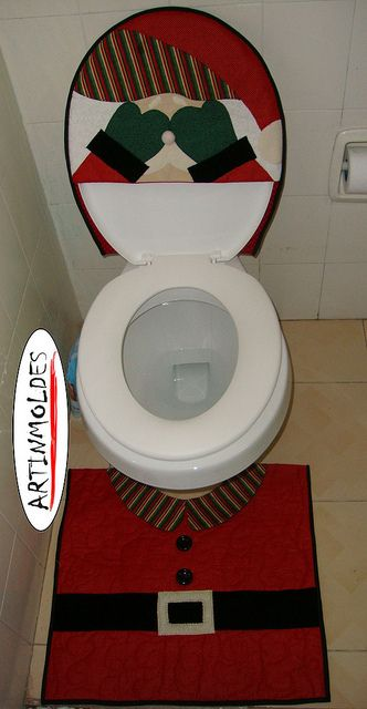Juegos De Baño Rojos:Juego de baño rojo muñeco de nieve Pedidos al 5538820030