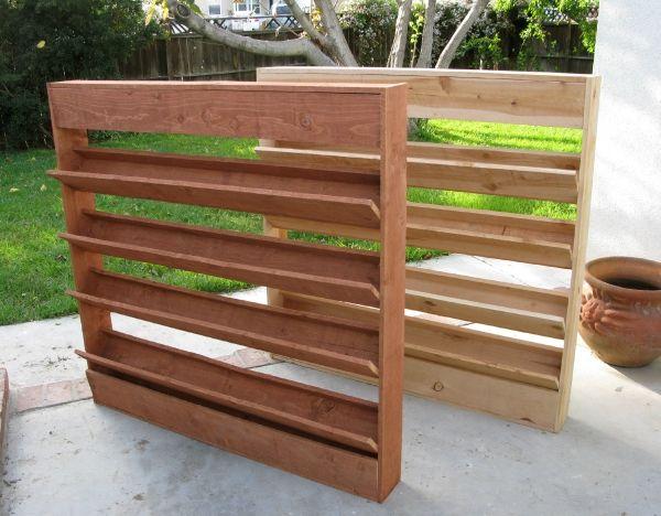 Living wall planter outdoor living pinterest for Living wall planter