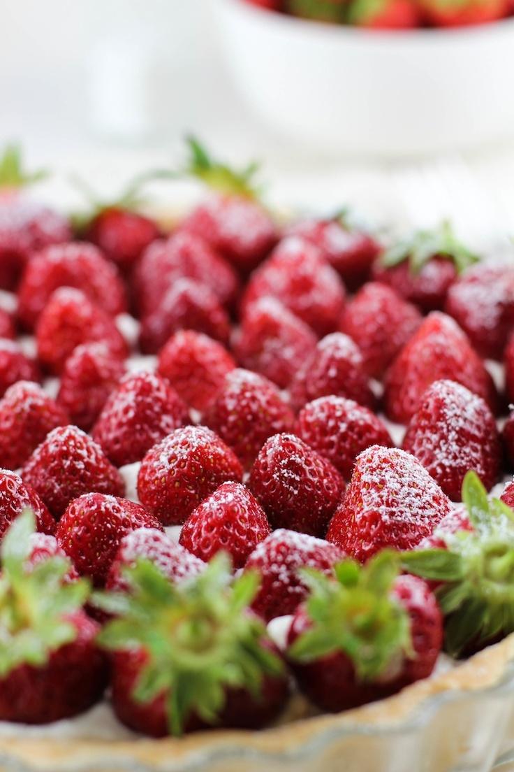 Strawberry mascarpone tart. | The Taste of Excellency | Pinterest