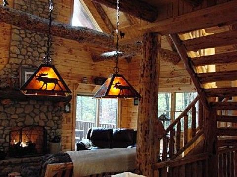Cabin Decorating Ideas on Log Cabin Interior Decorating Ideas   Cabin Decor