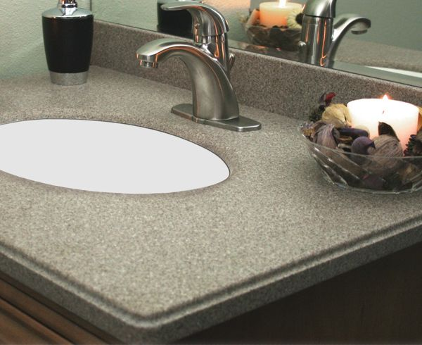 Menards Countertop Options : countertops to compliment your bathroom style. http://www.menards ...