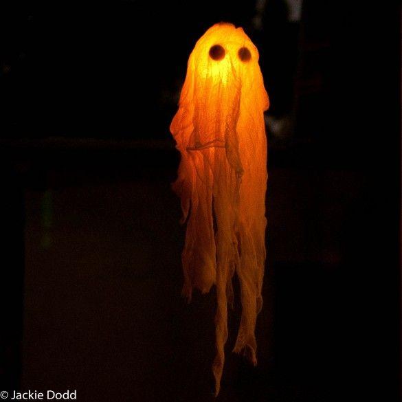 DIY Glow In The Dark Ghost3