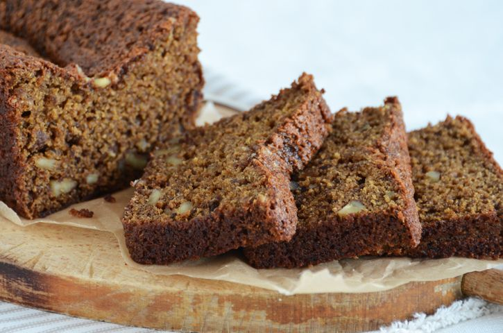Date-Walnut Loaf Cake | Breads~Quick & Muffins | Pinterest