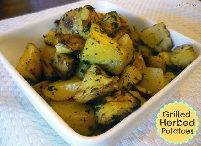 Grilled Herb Potatoes Recipe — Dishmaps