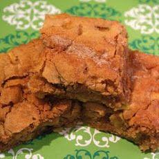 Apple Cinnamon Cookie Bars Recipe | Food: Diabetic Sins 2 | Pinterest