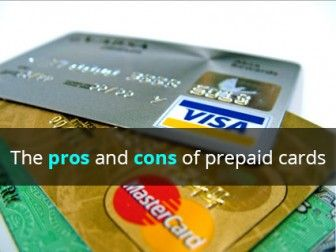 credit card pros and cons of having one