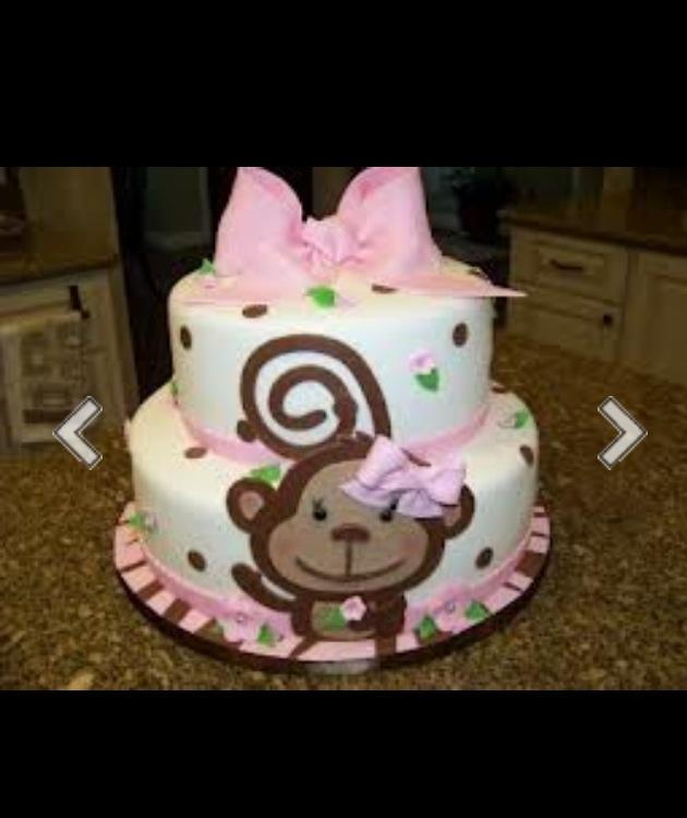monkey baby shower cake baby shower pinterest