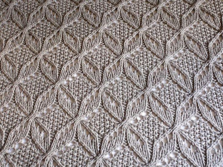 Japanese Knitting Patterns : Love this stitch pattern! Pleteni vzorci / Knitting ...