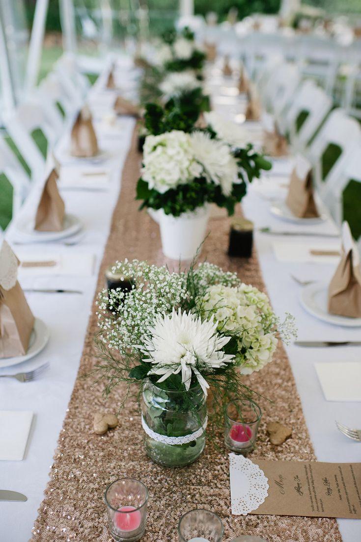 table  pinterest runner! the Ideas Pinterest  Wedding sequinned Love runner  ideas  table