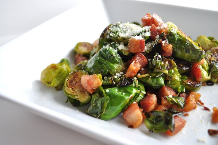Brussels Sprouts & Pancetta | food yum | Pinterest