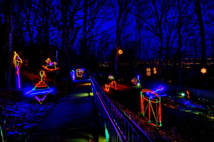 Pin by see rock city on enchanted garden of lights pinterest - Rock city enchanted garden of lights ...