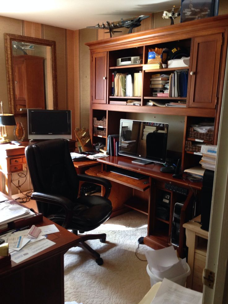 Man Cave Home Office : What a lovely home office man cave interiors pinterest