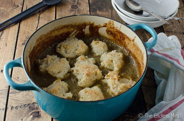 Creamy Chicken Stew with Dumplings | Food | Pinterest
