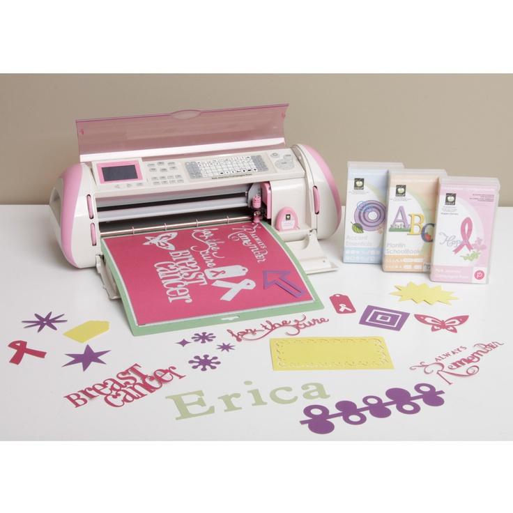cricut pink expression machine