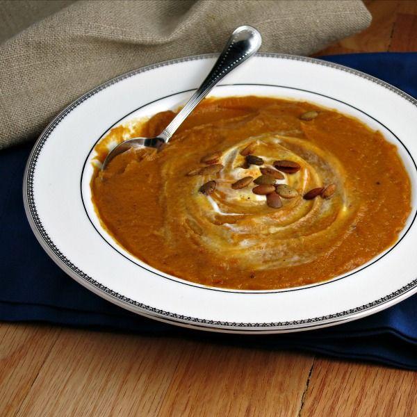 Sweet Potato and Chipotle Soup | Recipe