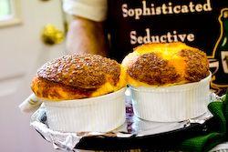 Three-Cheese Soufflé | Recipe