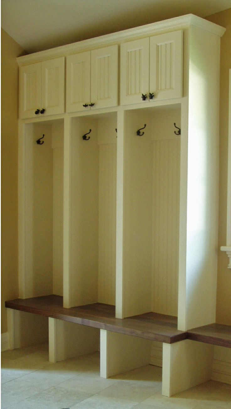 Mudroom Lockers Bench Moms Wish List Pinterest