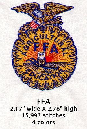 Ffa Embroidery Design