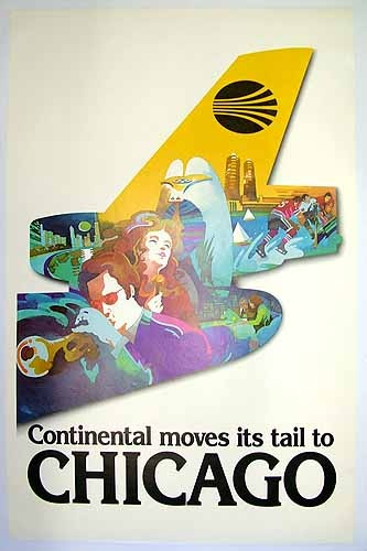 Continental Airlines ~Chicago