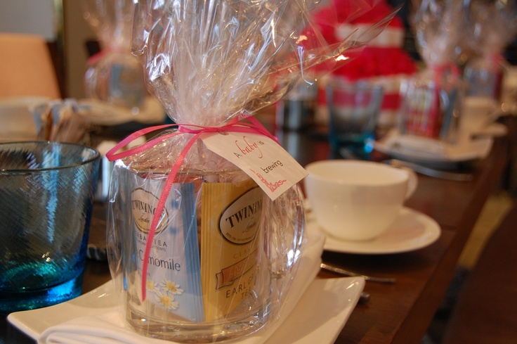 baby shower tea party favors parties pinterest