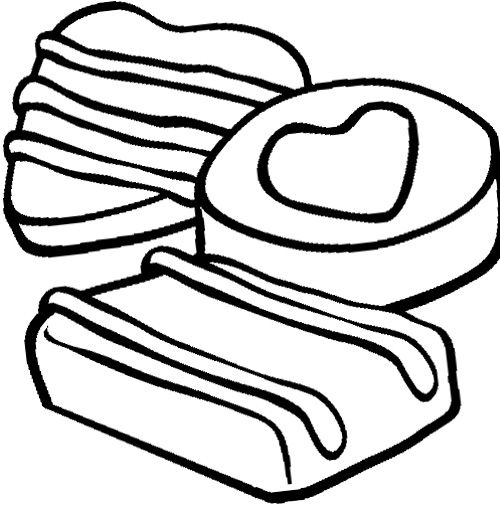 cocoa and cookies coloring pages - photo#12