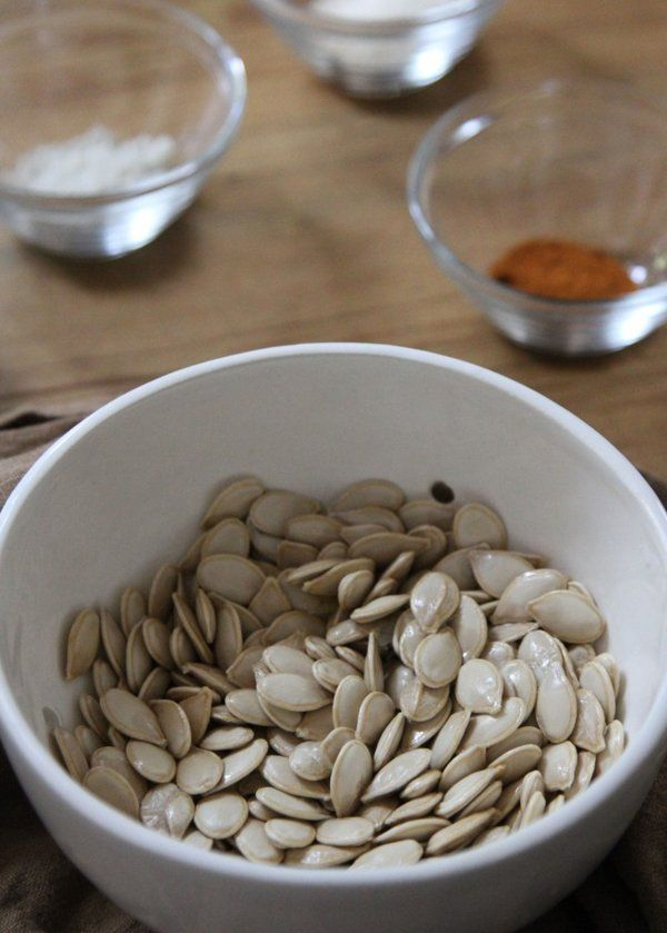 Sweet and Spicy Roasted Pumpkin Seeds - Yahoo Homes